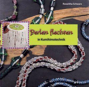 Buchcover: Perlen flechten in Kumihimotechnik